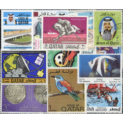 qatar stamp packet