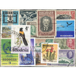 rhodesia stamp packet