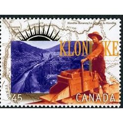canada stamp 1606e working the gold claims 45 1996