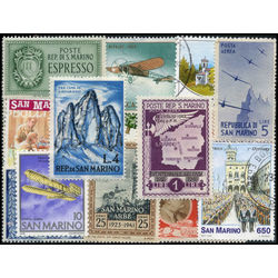 san marino stamp packet