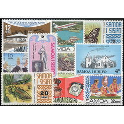 samoa stamp packet