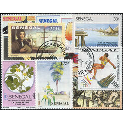 senegal stamp packet