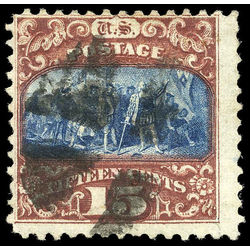 us stamp postage issues 119 columbus 15 1869 u 001