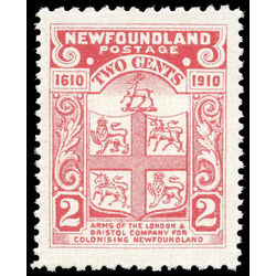 newfoundland stamp 88a coat of arms 2 1910