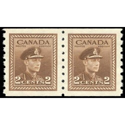 canada stamp 264pa king george vi 1942