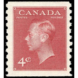 canada stamp 300 king george vi 4 1950