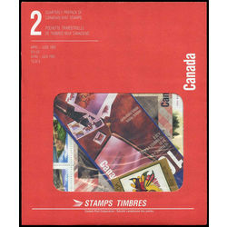 canada quarterly pack 1993 02