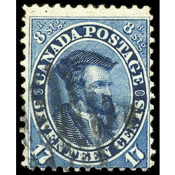 canada stamp 19iv jacques cartier 17 1859 u f 001