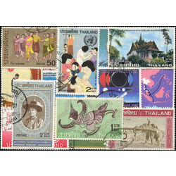 thailand stamp packet