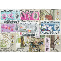 trengganu malay state stamp packet