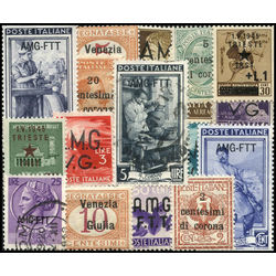 trieste stamp packet