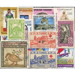 tunisia stamp packet