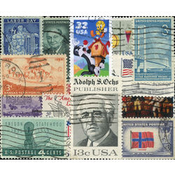 united states pictorials stamp packet