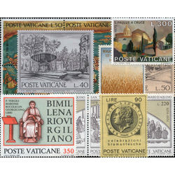 vatican city stamp packet