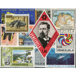 venezuela stamp packet
