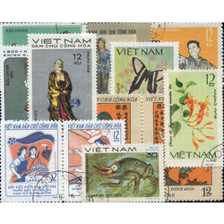 viet nam north stamp packet
