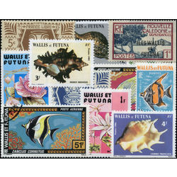 wallis futuna stamp packet