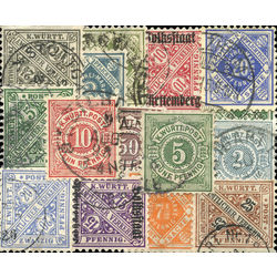 wurttemberg stamp packet