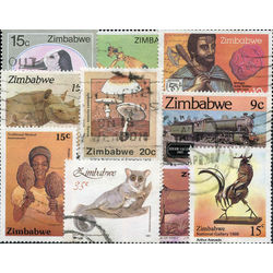 zimbabwe stamp packet
