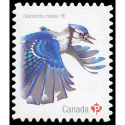 canada stamp 3020i blue jay 2017