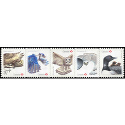 canada stamp 3018 22 birds of canada 2 2017