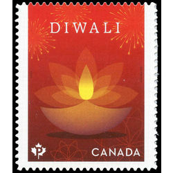 canada stamp 3024 diwali clay lamps 2017