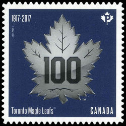 canada stamp 3044i toronto maple leafs 2017