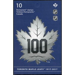 canada stamp complete booklets bk bk680 toronto maple leafs 2017