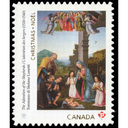 canada stamp 3046i the adoration of the shepherds 2017