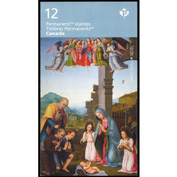 canada stamp complete booklets bk bk681 the adoration of the shepherds 2017