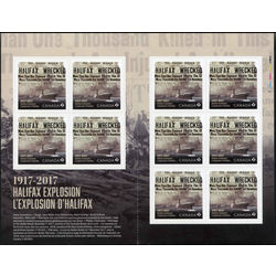 canada stamp 3050a halifax explosion 2017