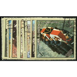 umm al qiwain stamp sir winston churchill 1875 1964 1964
