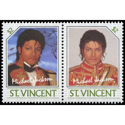 st vincent stamp 896 michael jackson 2 1985