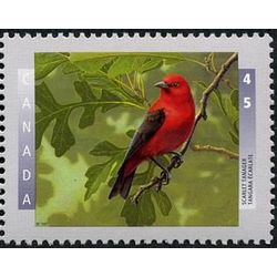 canada stamp 1634 scarlet tanager 45 1997
