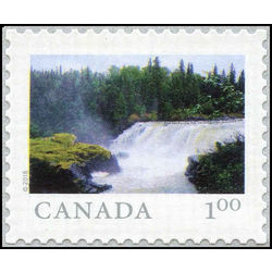 canada stamp 3070 from far and wide pisew falls pronvincial park mb 1 00 2018