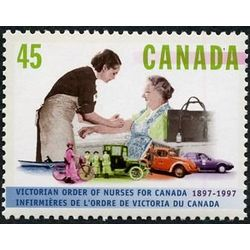 canada stamp 1639 nurse and patient 45 1997