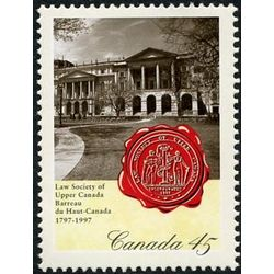 canada stamp 1640 osgoode hall 45 1997