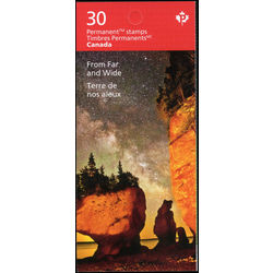 canada stamp complete booklets bk bk690 from far and wide 2018