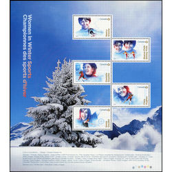 canada stamp 3079 women in winter sports 4 25 2018