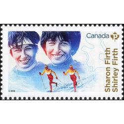 canada stamp 3079b shirley and sharon firth 2018