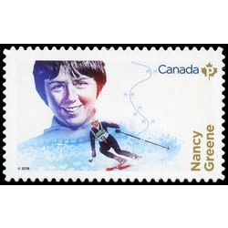 canada stamp 3080i nancy greene 2018