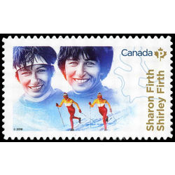 canada stamp 3081 shirley and sharon firth 2018