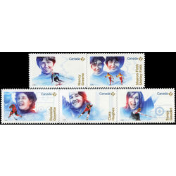 canada stamp 3080 4 women in winter sports 2018