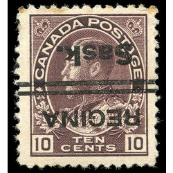 canada stamp 116xx king george v 10 1912 m f 002