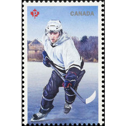 canada stamp 3039a history of hockey 2017