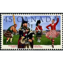 canada stamp 1655 highland games 45 1997