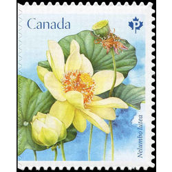 canada stamp 3091 lotus nelumbo lutea 2018