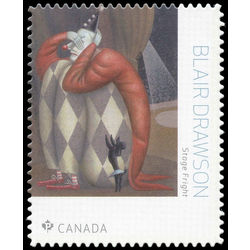 canada stamp 3094i stage fright blair drawson 2018