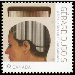 canada stamp 3097i it s not a streem of consciousness gerard dubois 1968 2018
