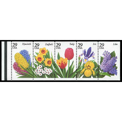 us stamp postage issues 2764a garden flowers 1993